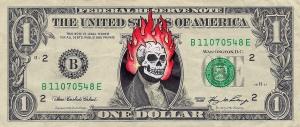 Skull+Flames